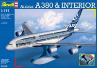 Revell  04259 Авиалайнер Airbus A380 'Visible Interior'