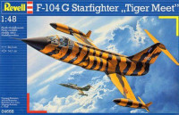 Истребитель Lockhed F-104G Starfighter 'Tiger Meet'