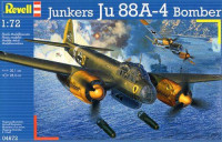 Revell  04672 Бомбардировщик Junkers Ju88 A-4 Bomber