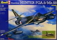 Истребитель Hawker Hunter FGA.9/F.58