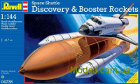 Спейс шаттл Discovery & Booster Rockets