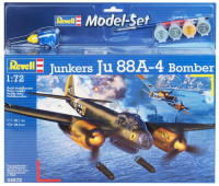 "Revell  64672 Бомбардировщик ""Junkers Ju88 A-4 Bomber"""