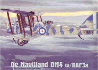 Cамолет Havilland DH4 w/RAF3a