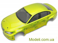 Team Magic E4D 320 Pre-painted Body Shell Yellow