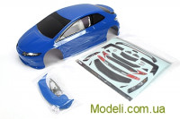 Team Magic E4D TPR Pre-painted Body Shell Blue