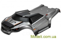 Team Magic E6 HX Body - Metal Gray