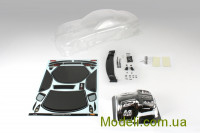 Team Magic K Factory RX7 Touring Car Body Clear 195mm