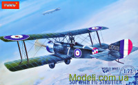 Sopwith 1 1/2 Strutter Comic fighter