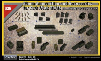 2cm Flak38 Accessories and Ammo Box Set