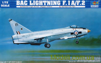 Самолет English Electric (BAC) Lightning F.1A/F.2