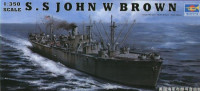 Корабль S.S JOHN W BROWN Liberty Ship