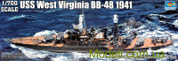 Корабль USS West Virginia BB-48 1941