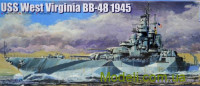 Корабль USS West Virginia BB-48 1945