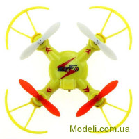 Квадрокоптер нано р/у 2.4Ghz WL Toys V646-A Mini Ufo (желтый)