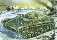 ZVE3508 T-60 WWII Soviet light tank