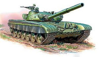 ZVE3550 T-72B Soviet main battle tank