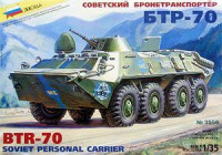 ZVE3556 BTR-70 Soviet armored troop-carrier