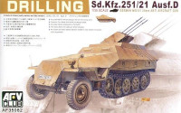 ЗСУ Sd.Kfz. 251/21 Ausf.D Drilling