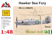 Винищувач FB.11 (REAF) Hawker Sea Fury