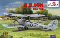 Біплан de Havilland DH.60M Metal Moth