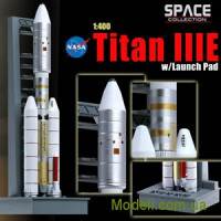 Американська ракета-носій Titan IIIE w/launch pad