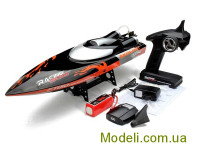 Катер на р/к 2.4GHz Fei Lun FT010 Racing Boat, 650мм (чорний)