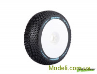 Колеса Louise Buggy 1/8 Sport B-Turbo, білі, 2 шт