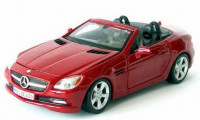Автомодель Mercedes-Benz CLK (червоний)