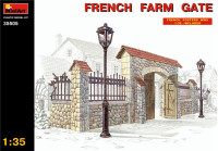 French farm gate