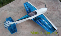 Літак р/к Precision Aerobatics Katana Mini, 1020мм KIT (синій)
