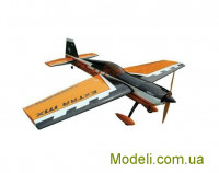 Літак р/к Precision Aerobatics Extra MX, 1472мм KIT (жовтий)