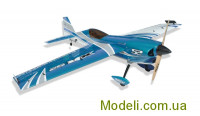 Літак р/к Precision Aerobatics XR-52, 1321мм KIT (синій)
