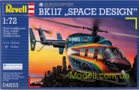 Гелікоптер BK 117 'Space Design""