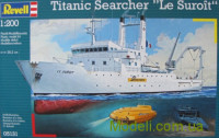 "Пароплав Titanic Searcher ""Le Suroit"""