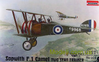 Винищувач Sopwith F.1 Camel RAF two seat trainer