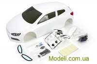 Team Magic E4D SRC Pre-painted Body Shell White