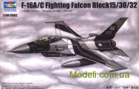 Винищувач F-16A/C Fighting Falcon Block15/30/32